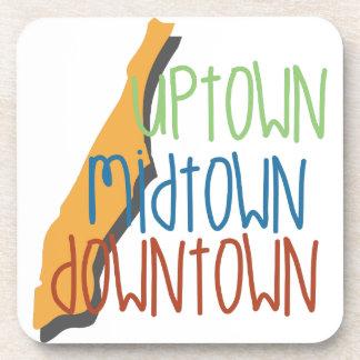 Uptown Midtown Drink Coasters