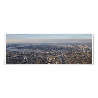 Uptown New Orleans Aerial Photo Print