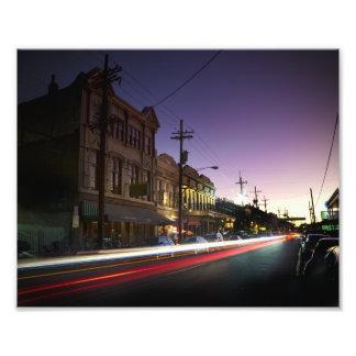 Uptown New Orleans Sunset Print Art Photo