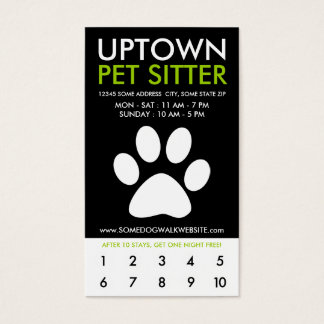 uptown pet sitter loyalty