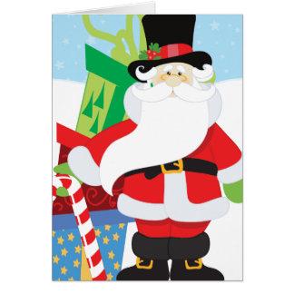 Uptown Santa Card