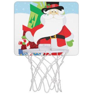 Uptown Santa Mini Basketball Hoop