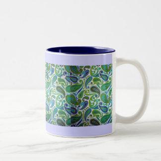 uptown Two-Tone coffee mug