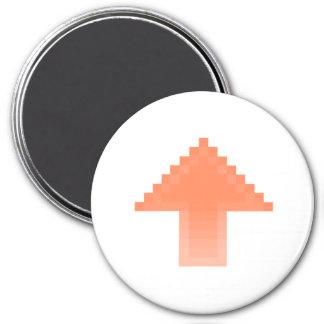 Upvote 7.5 Cm Round Magnet