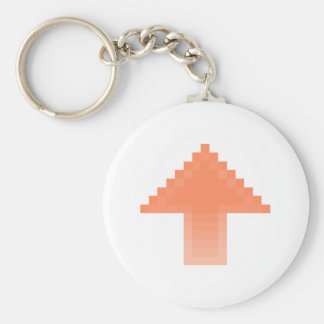 Upvote Basic Round Button Key Ring