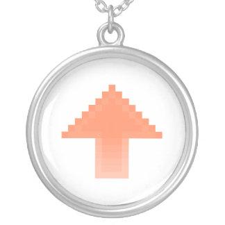 Upvote Round Pendant Necklace