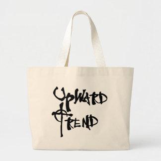 Upward Trend Tote Bag