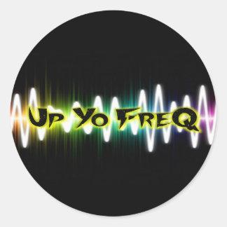 UpYoFreQ Stickers - Large