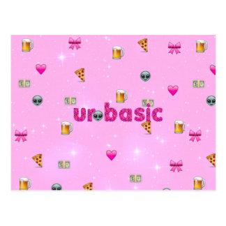 Ur Basic/Emoji Postcard