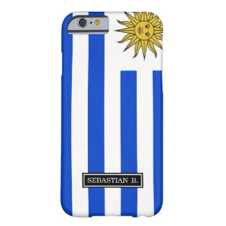 Uraguay flag barely there iPhone 6 case