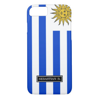 Uraguay flag iPhone 7 case