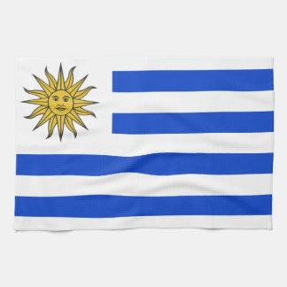 Uraguay flag towel