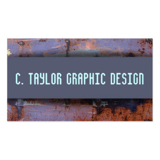 """Urban Abstracts"" 2 Pack Of Standard Business Cards"