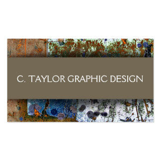 """Urban Abstracts"" 3 Double-Sided Standard Business Cards (Pack Of 100)"