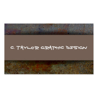 """""""Urban Abstracts"""" 4 Business Card"""