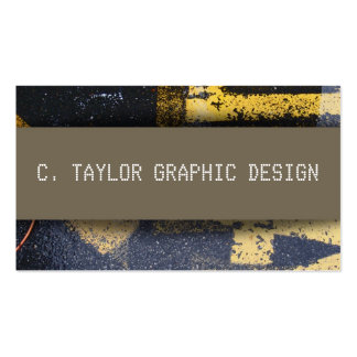 """Urban Abstracts"" 5 Pack Of Standard Business Cards"
