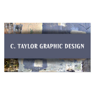 """""""Urban Abstracts"""" 6 Business Card Template"""