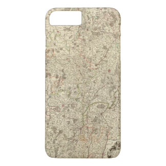 Urban areas of France 2 iPhone 7 Plus Case
