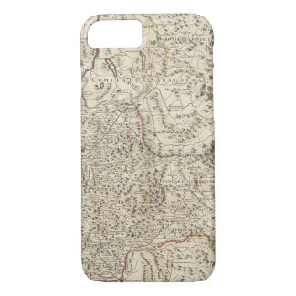 Urban areas of France 3 iPhone 7 Case