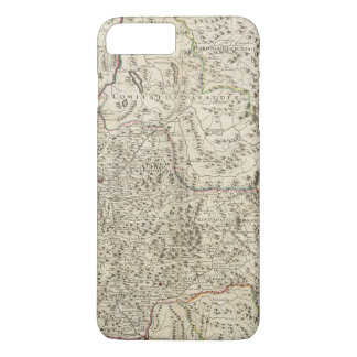 Urban areas of France 3 iPhone 7 Plus Case