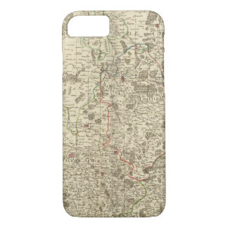 Urban areas of France iPhone 7 Case