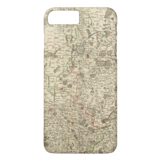 Urban areas of France iPhone 7 Plus Case