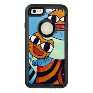 Urban Art Cat and Sun OtterBox iPhone 6/6s Plus Case