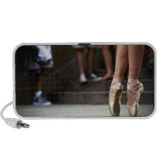 """Urban Ballerina"" Notebook Speakers"