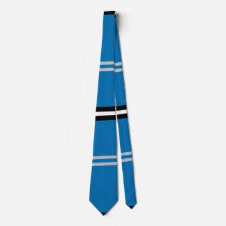 Urban Blue Lakeside Horizontal Stripe Tie