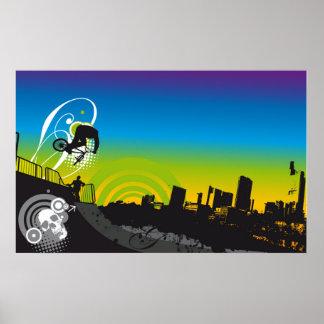 Urban BMX Poster