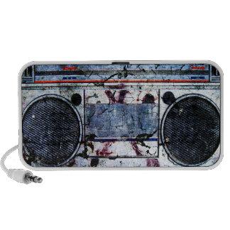Urban boombox iPod speakers