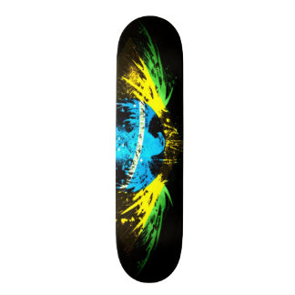 Urban Brazil Graffiti Eagle Custom Pro Park Board Custom Skate Board