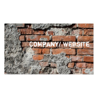 Urban Brick Graffiti Pack Of Standard Business Cards