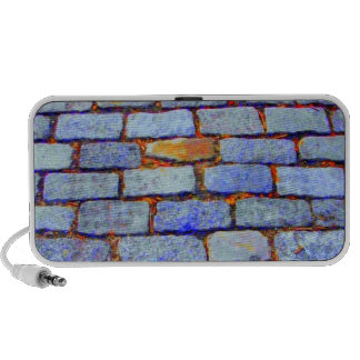 Urban Bricks (Blue) Doodle Speaker