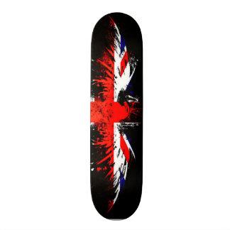 Urban British Eagle Graffiti Custom Pro Park Board 19.7 Cm Skateboard Deck
