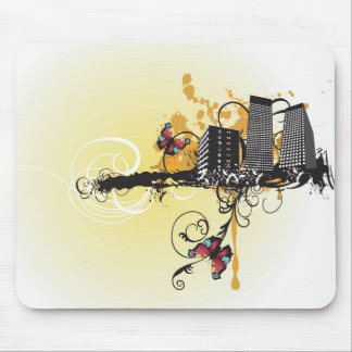 Urban buildings Mousepad