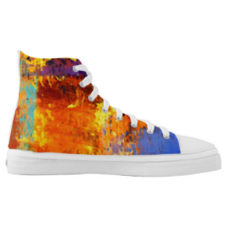 Urban Camo High Top Sneakers