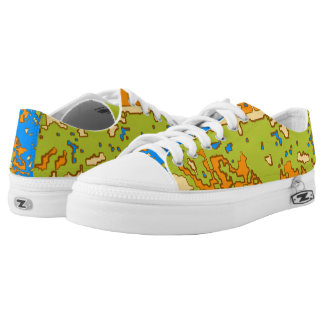Urban Camo Low Tops Printed Shoes