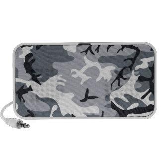 Urban Camouflage Doodle Notebook Speaker