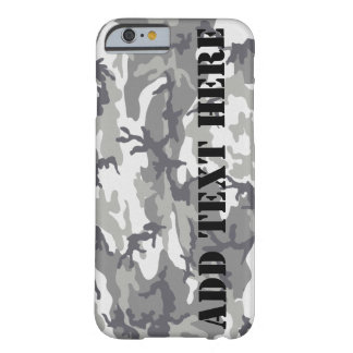 Urban Camouflage iPhone 6 case Barely Case