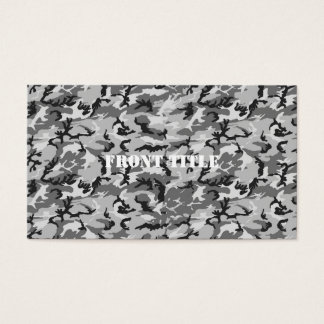 Urban Camouflage Pattern - Black & Grey