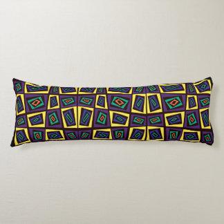 Urban Camouflage Tortoise Shell IV Body Pillow