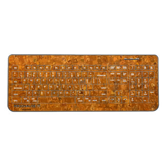 Urban camouflage wireless keyboard