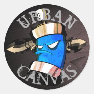 Urban Canvas - crush addict Sticker