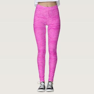 Urban Carnation Pink Paper Pastel Grunge Leggings