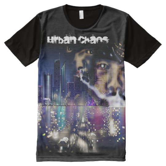 Urban Chaos (Mad City) All-Over Print T-Shirt