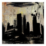 urban cityscape decay posters