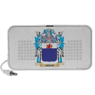 Urban Coat of Arms - Family Crest Notebook Speakers