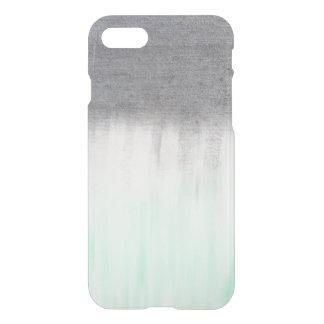 urban concrete, mint green iPhone 8/7 case
