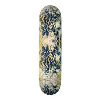 Urban Death Harbinger Custom Pro Park Board 21.3 Cm Mini Skateboard Deck